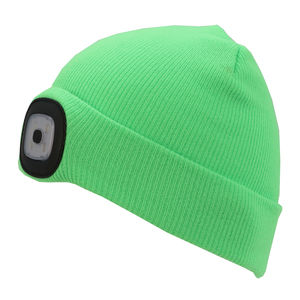 Thinsulate Kids Beanie & LED Light Green