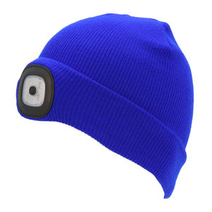 Thinsulate Kids Beanie & LED Light Blue