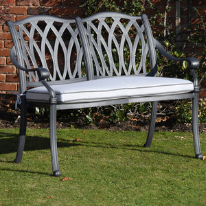 Hartman Florence Bench Antique Grey