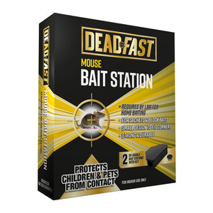 Deadfast Mouse Twin Bait Station