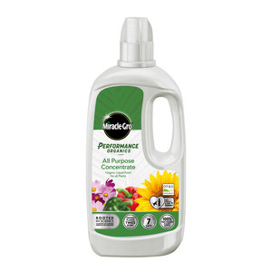 Miracle-Gro Performance Organics All Purpose Plant Food Liquid Concentrate 1L