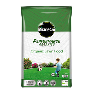 Miracle-Gro Performance Organics Lawn Food Bag 360m