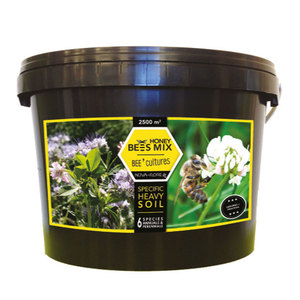 Honey Bees Mix Bee' Cultures 2500 Square Meters