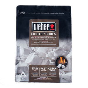 Weber Lighter Cubes White