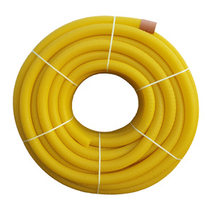 Yellow Coil Land Drainage Pipe
