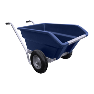 JFC Twin Wheel Tipping Wheelbarrow
