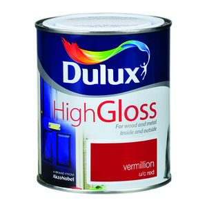 Dulux High Gloss Vermillion