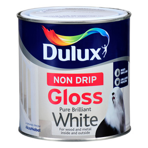 Dulux Non Drip Gloss Brilliant White