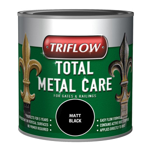 Triflow Total Metal Care Smooth Black