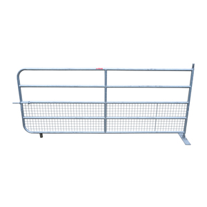 Fox Brothers Heavy Galvanised Half Mesh Field Gate