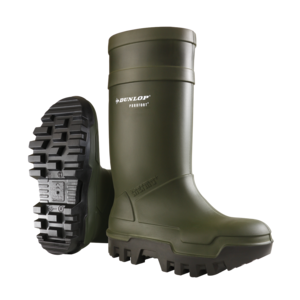 Dunlop Purofort Thermo Plus Safety Green Wellington