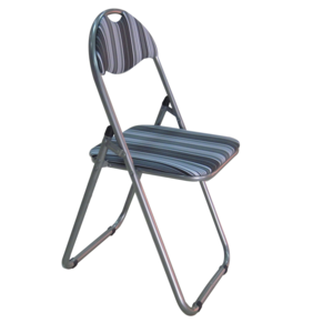 Striped Folding Chairs