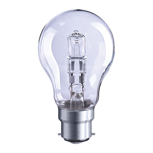 Solus BC Clear A55 Halogen Energy Saver Bulb