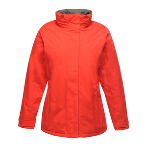 Beauford Mens Waterproof Padded Jacket Red