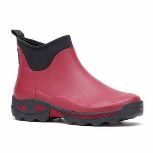 Rouchette Red Ladies Ankle Boot