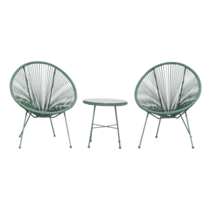 2 Seater Egg Chair Set